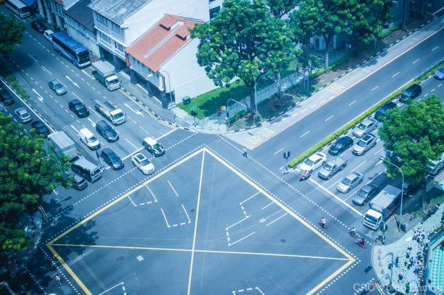 シンガポール交差点