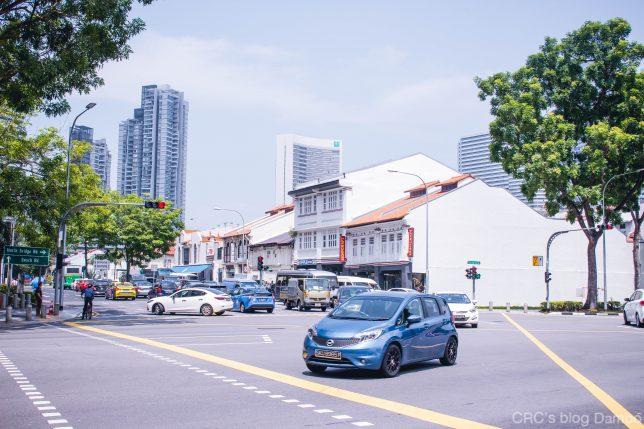 シンガポール交差点2