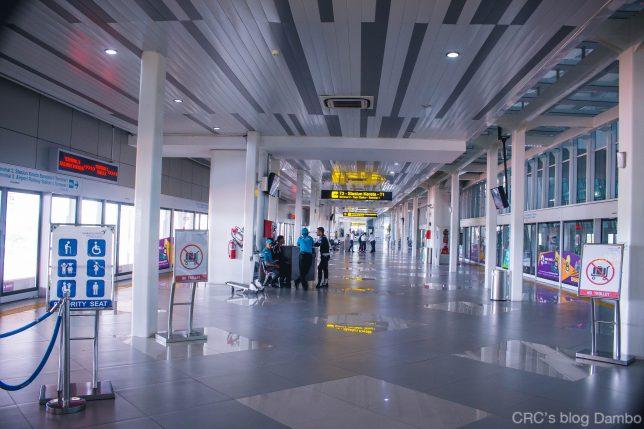 スカルノハッタ国際空港のターミナル間をつなぐスカイトレインの駅