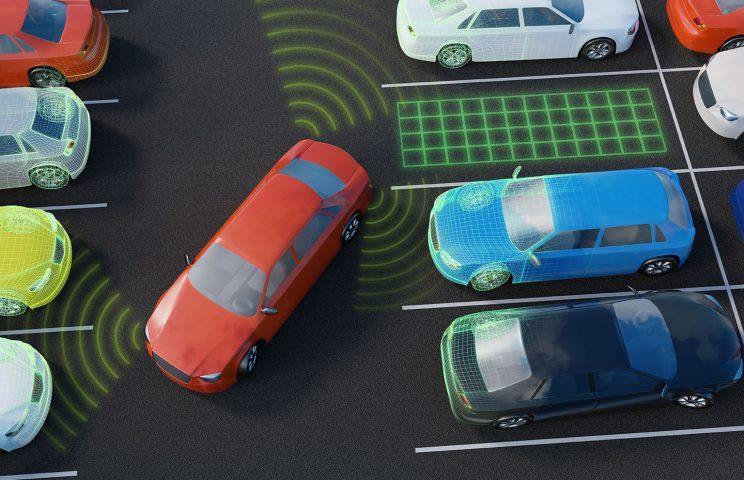 (5)駐車支援:自動的に車庫入れ(並列駐車や縦列駐車)を行う